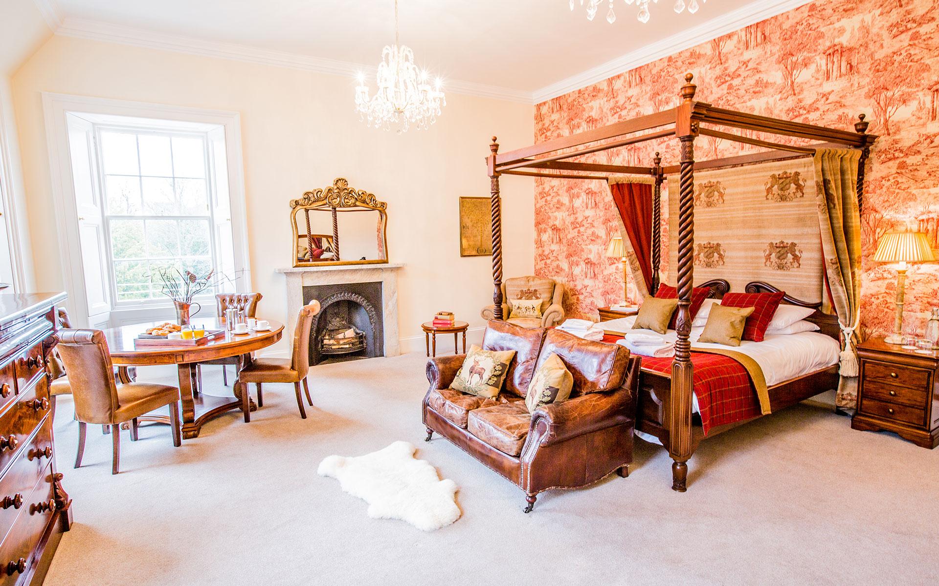 Carberry Tower Scottish Castle Accommodation Grande Suites
