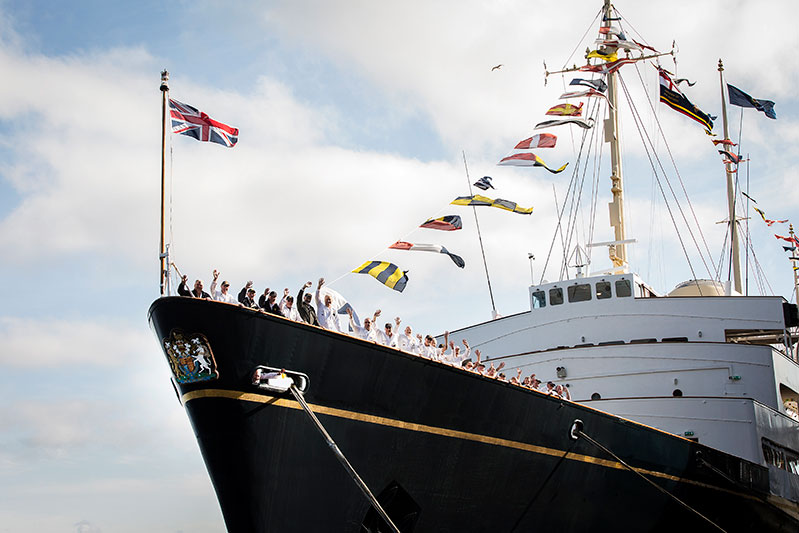 Things to do - The Royal Yacht Britannia