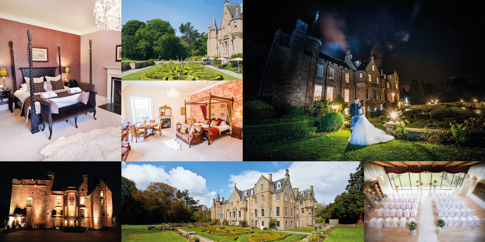 Carberry Tower Wedding Montage